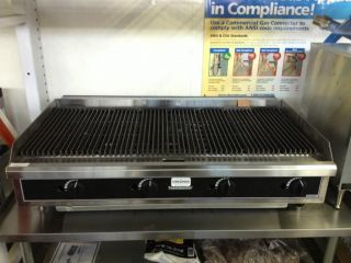 """Toastmaster 48"""" Natural Gas Charbroiler New Showroom Item"""