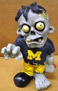 Michigan Wolverines Zombie Decorative Garden Gnome Figure Statue New NCAA