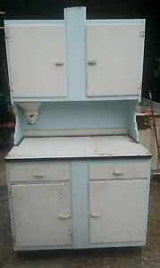 Antique Hoosier Cabinet Flour Mill Bin Vintage Kitchen Pantry