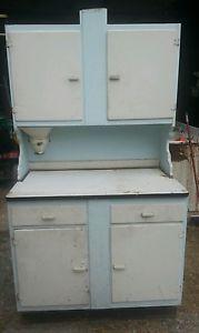 Antique Hoosier Cabinet Flour Mill Bin Vintage Kitchen Pantry