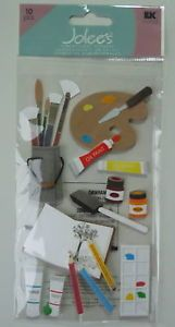 SCHOOL88 Jolee's 3D Stickers Artist Supplies