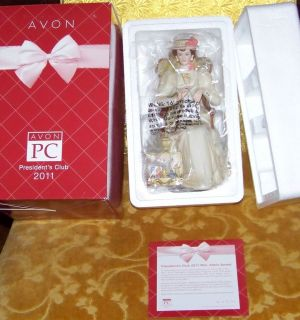 Avon Mrs Albee Figurine 2011 2012 New in Box