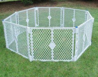 Superyard XT 8 Panel Play Yard Pen Gate Baby Pet Dog