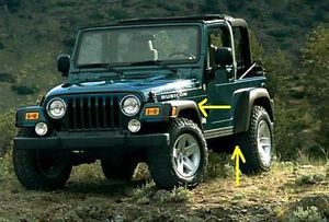 New 1997 2006 Jeep Wrangler Rubicon Wheel Fender Flares Mopar