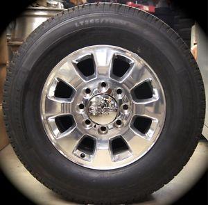 "New 2011 12 GMC Sierra HD 2500 3500 18"" Wheels Rims Tires Chevy Silverado"