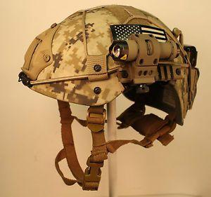 Gunfighter CVC Kevlar Helmet Med Ops Core VAS DEVGRU Seal Special Forces ACH