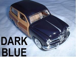 "49 1949 Ford Woody Station Wagon Metal Die Cast Cars 1 38 Scale 5 1 2"" Long"