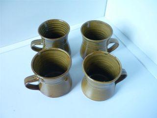 Australian Pottery Mugs x 4 Gulson Goulburn Kitchenware Drinkware Coffee Cup Fun