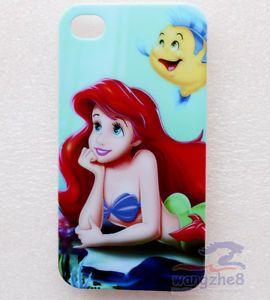 Disney Princess Ariel The Little Mermaid Back Case Cover for iPhone 4 4G 4S APA