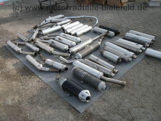 1x Auspuff Exhaust Muffler Honda CBR 900 RR Fireblade