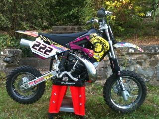 Custom Graphic Kit for Pit Bike Neon Style Select Model Below