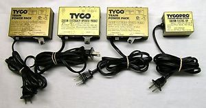 Tyco Train Power Pack and Tyco Pro Electric Racing System Track Power Supply
