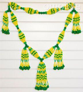 Collar de Mazo Yoruba Santeria Lucumi Eleke Orisha Santo IFA Orula Yemaya Elgua