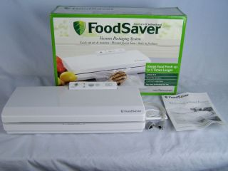 FoodSaver Vacuum Packing System V2040 Food Storage Box Sealer Hose Manual Saver