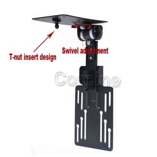 Adjustable Under Cabinet LCD LED Flat Screen TV Monitor Mount 15 19 21 22 24 MB0