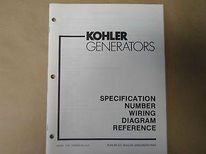 Kohler Generators Specification Number Wiring Diagram Reference ES 913 Boat