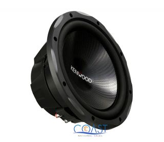 "Kenwood KFC W3013PS 12"" Single 4 Ohm 1200W Performance Series Subwoofer 019048192066"