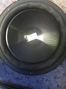 "New Kenwood KFC W3013PS Performance Series 12"" Single 4 Ohm 1200W Subwoofer Sub 019048192066"