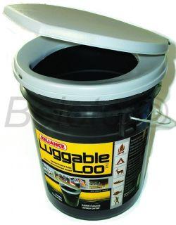 Reliance Luggable Loo Portable Toilet Seat Lid w Bucket Potty Emergency Survival