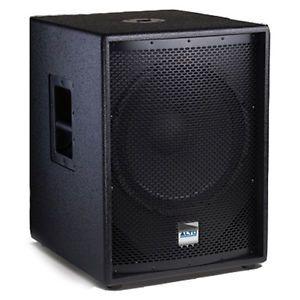 """Alto TSSUB15 Powered DJ PA Subwoofer 1200W 15"""" Truesonic Active Sub TS SUB15"""