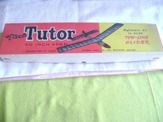 Vintage Boxed Jasco Tutor Tow Line Glider Model Aircraft Kit not Keil Kraft