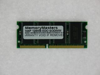128MB Edo Memory RAM Non Parity 60ns SODIMM 144 Pin