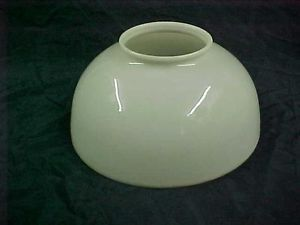 Antique Milk Glass Oil Gas Lamp Shade 14in
