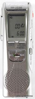 Panasonic RR US395 Digital Voice Recorder 128MB