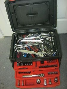 Craftsman Tool Box Chest for Hand Tools w the Tools Wrenches Sockets Ratchets