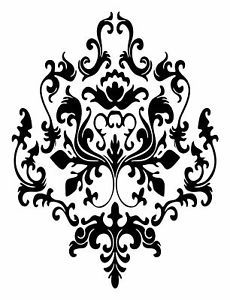 Baroque Pattern Decal Wall Sticker Home Decor Classic
