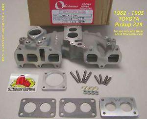 Toyota Pickup 22R Offenhauser Dual Port Intake Manifold
