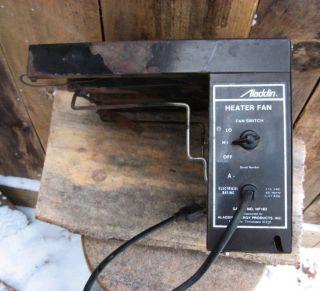 Aladdin HF183 Add on Blower Fan Kerosene Space Heater Universal Stove