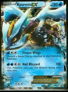 Pokemon Kyurem EX BW37 Promo Next Destinies Ultra RARE Holo Mint