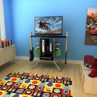 Video Game Console Storage Rack And Tv Stand New