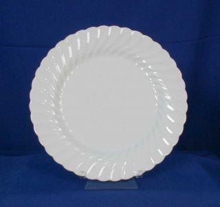 Johnson Brothers England Regency Pattern White Dinner Plate