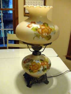 Beautiful Vintage Hurricane Lamp