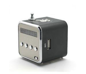 New Micro SD TF USB Mini Speaker Music Player Portable FM Radio Stereo PC