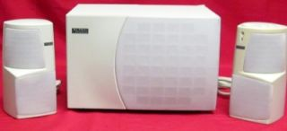 Altec Lansing Multimedia Computer Speaker System Powered Subwoofer ACS495