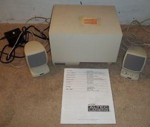 Dell Altec Lansing Multimedia Computer Speaker System Subwoofer ACS340