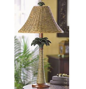 cast iron outdoor palm tree lamp post light floor lamp garden holiday. Black Bedroom Furniture Sets. Home Design Ideas