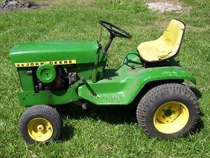 John Deere 140 H 3 Lawn and Garden Tractor 1972