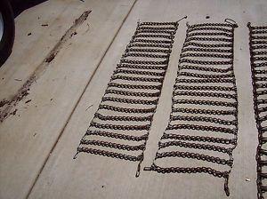 "Lawn and Garden Tractor Tire Chains 14"" x 55"" John Deere Cub Cadet Bolens"