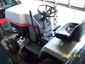 Craftsman LTV10 Vari Drive Riding Mower Lawn Mower Garden Tractor 10HP Tecumseh