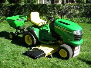 John Deere G100 Garden Tractor Riding Mower Lawn Mower