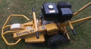 Vermeer SC130 Stump Grinder 13HP Honda Landscaping Tree Service Removal L K