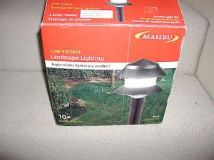 malibu low voltage landscape lighting 10 light kit. Black Bedroom Furniture Sets. Home Design Ideas