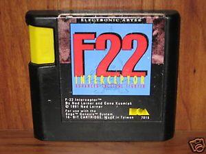 F22 Interceptor Genesis, 1991