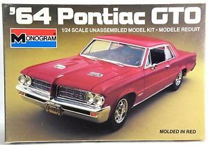 1 24 Scale 1964 Pontiac GTO Model Kit Monogram 2714
