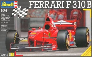 Revell Ferrari F 310 B Formula Race Car Model Kit 1 24 Scale MIB Free s H