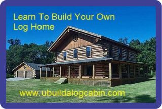 Butt Pass Log Home Cabin Instructional DVD No Notching No Log Cabin Kit Needed